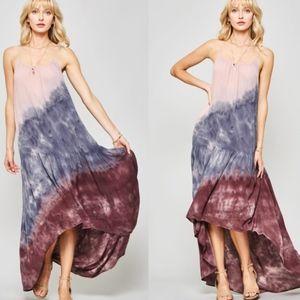 JAME Tie Dye Maxi Dress